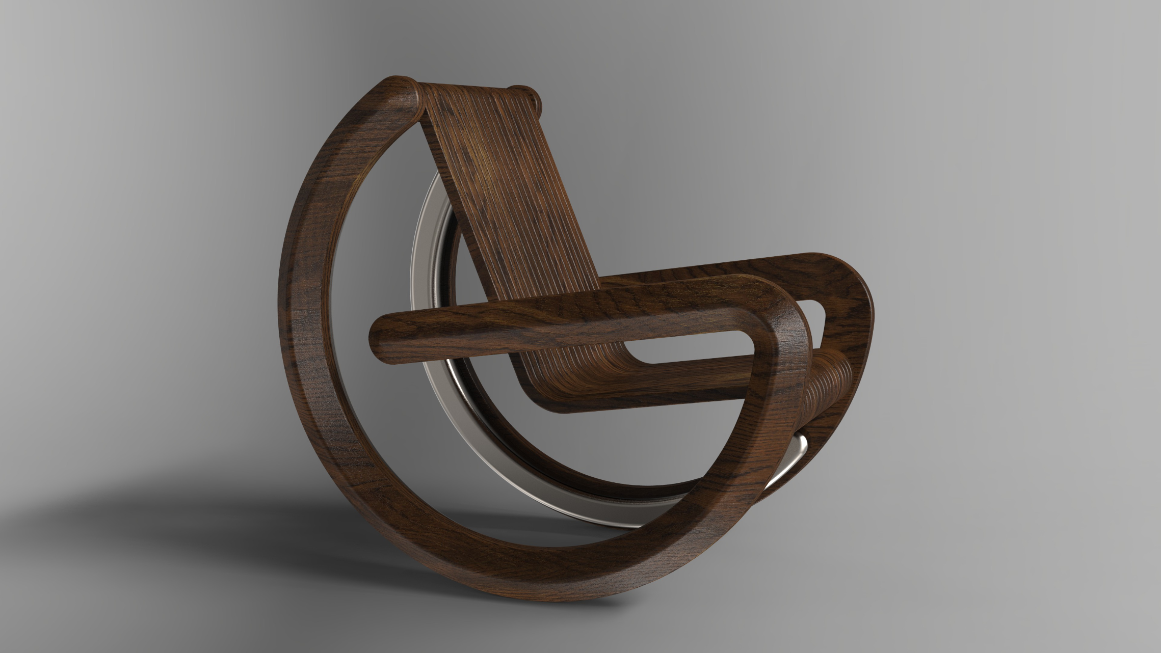 Equilibrium rocking chair