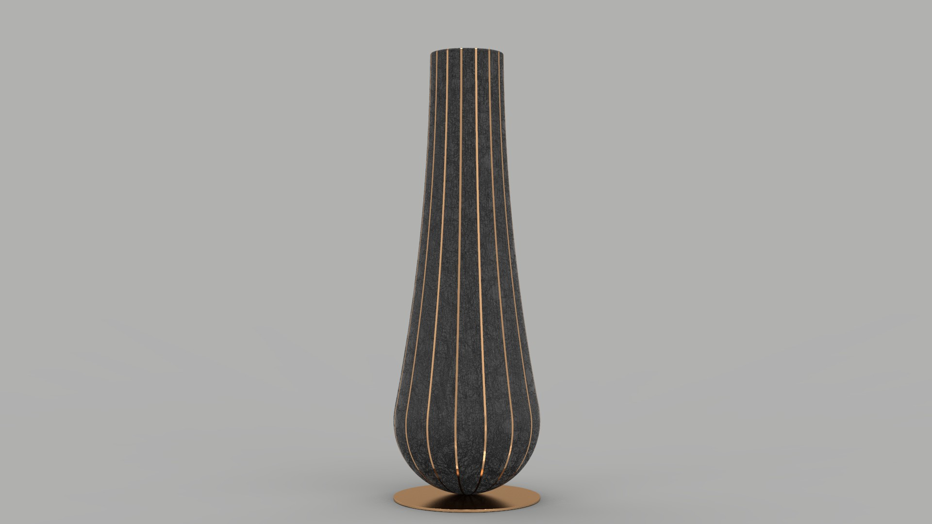 Aura vase wood