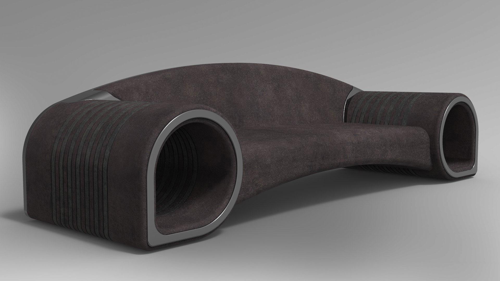 Glamora sofa leather