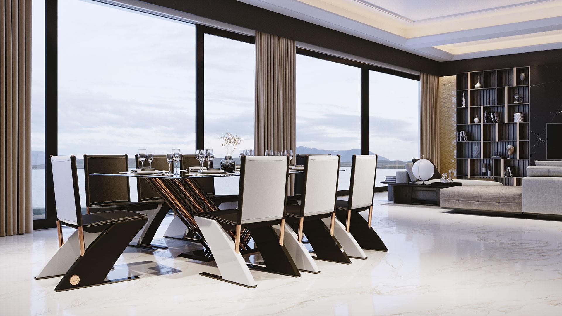 Delta chairs by Adam Edward Design